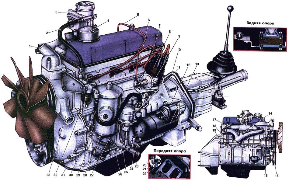Руководство По Ремонту Двигателя Газ 4301
